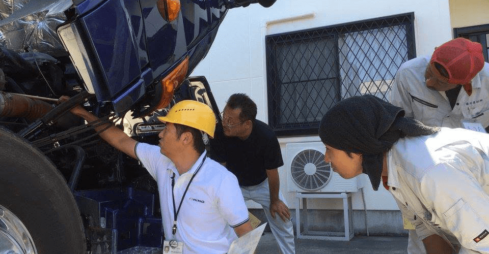 日野自動車様の研修