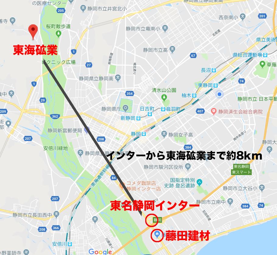 市街地の現場なら藤田建材のご利用がお得です。